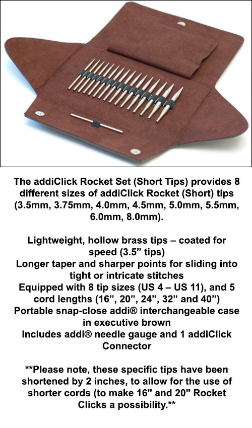 addi - Click - Rocket Short Tip Set - 750