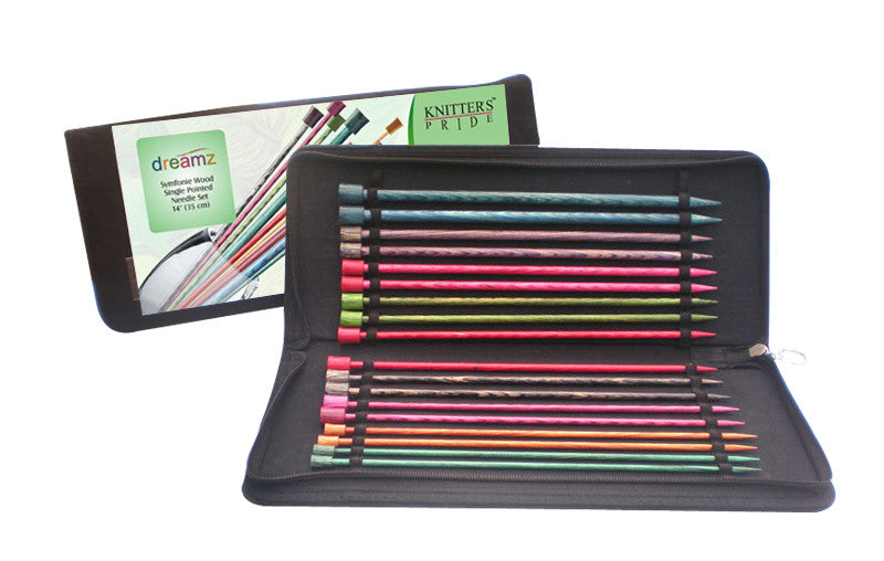 "Knitter's Pride - Dreamz - 14"" Single Point Needle Set"