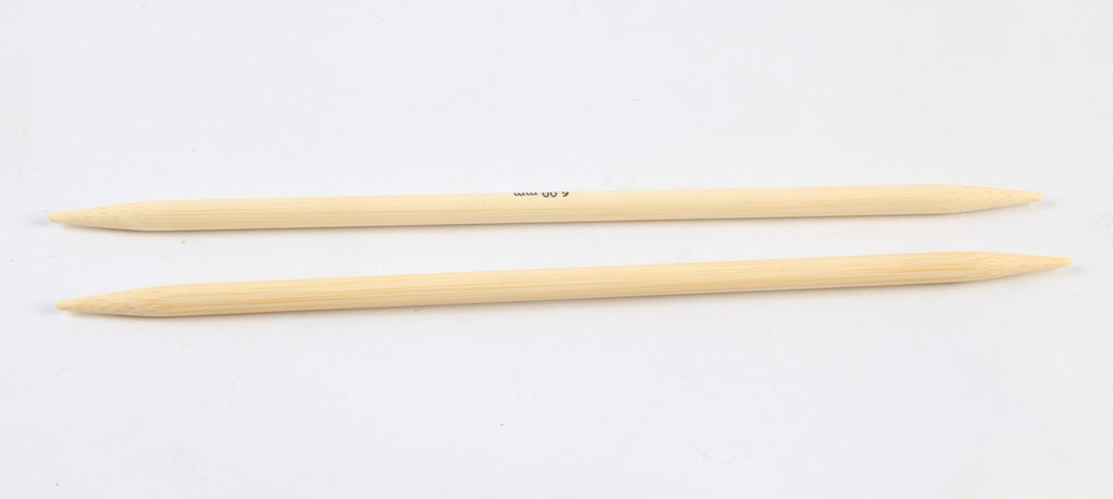"Knitter's Pride - Bamboo - 6"" Double Point"