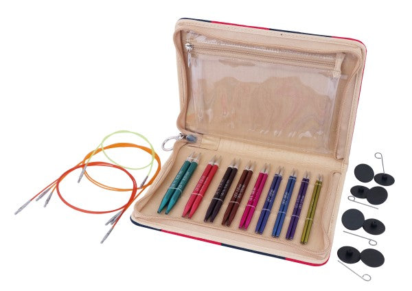 "Knitter's Pride - Zing - 4.5"" Interchangeable Needle Set Deluxe - 140301"