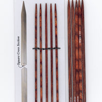 "Knitter's Pride - Cubics - 6"" Double Point"
