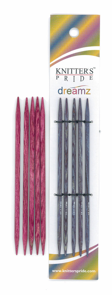 "Knitter's Pride - Dreamz - 5"" Double Point"