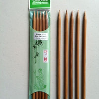 "ChiaoGoo - Dark Bamboo - 8"" Double Point - 1037"