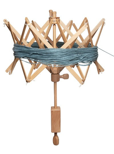 "Knitter's Pride - 19"" Swift/Skein Winder - Natural Series *NOT ELIGIBLE FOR FREE SHIPPING"