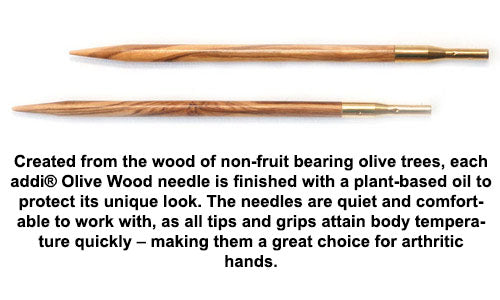 addi - Click - Olive Wood Tips - 576