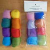 Fiber Trends - Packaged Wool Roving - Color Variety Pack