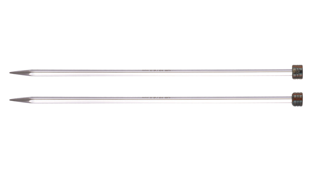 "Knitter's Pride - Nova Cubics Platina - 14"" Single Point"