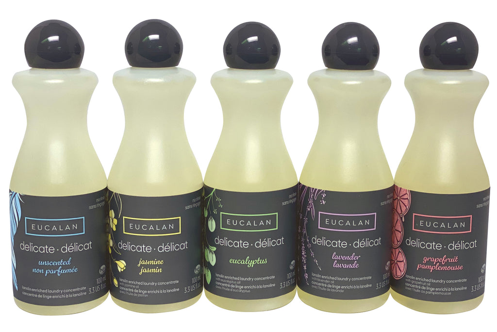 Eucalan - Gift Set - 5 Small Bottles
