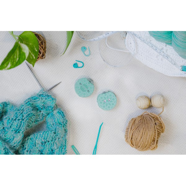 Knitter's Pride - Mindful - The Teal Row Counter