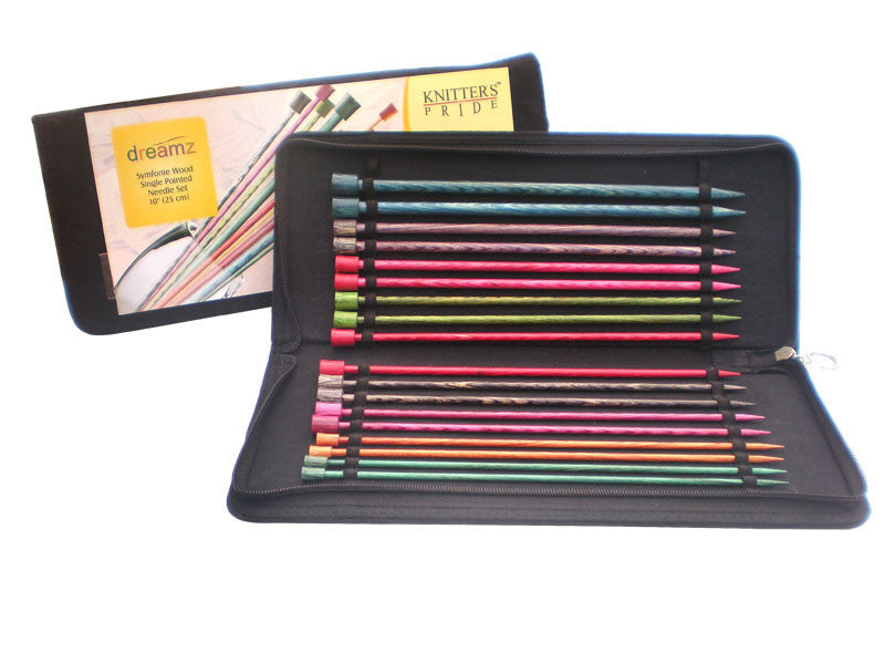 "Knitter's Pride - Dreamz - 10"" Single Point Needle Set"