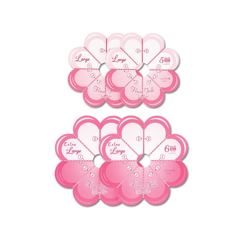 Clover - Flower Frill Templates DISCONTINUED