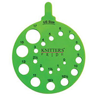 Knitter's Pride - Needle Gauge - Round Envy