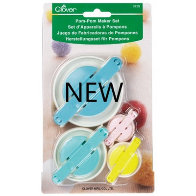 Clover - Pom Pom Maker Set -BRAND NEW ITEM