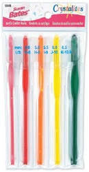 Susan Bates - Crystalites - Crochet Hook Set G - K