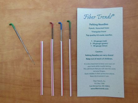 Fiber Trends - Felting Needles - Assortment Pack 4 Needles