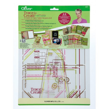 Clover - Trace 'n Create Templates E-Tablet & Paper Tablet Keepers *DISCONTINUED*