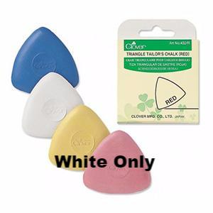 Clover - Triangle Tailor Chalk (White Only)