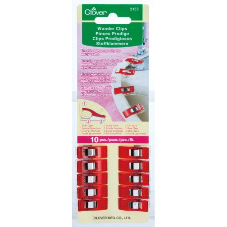 Clover - Wonder Clip, 10pc