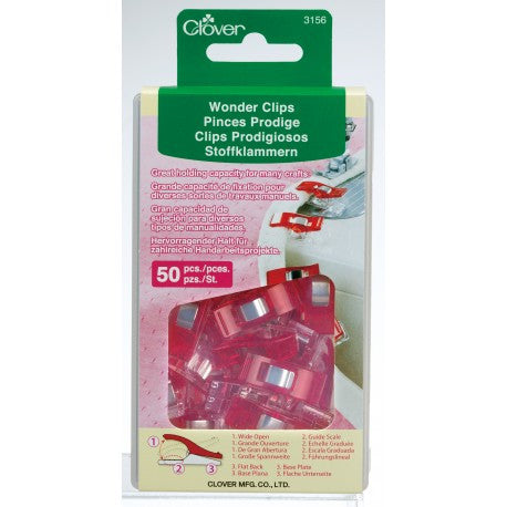 Clover - Wonder Clip, 50pc