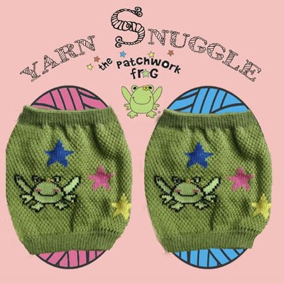 The Patchwork Frog - Yarn Snuggles