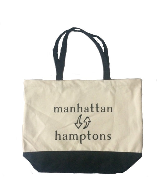 Manhattan to the Hamptons tote