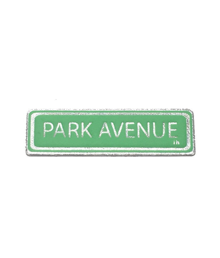 Park Avenue leather sticker