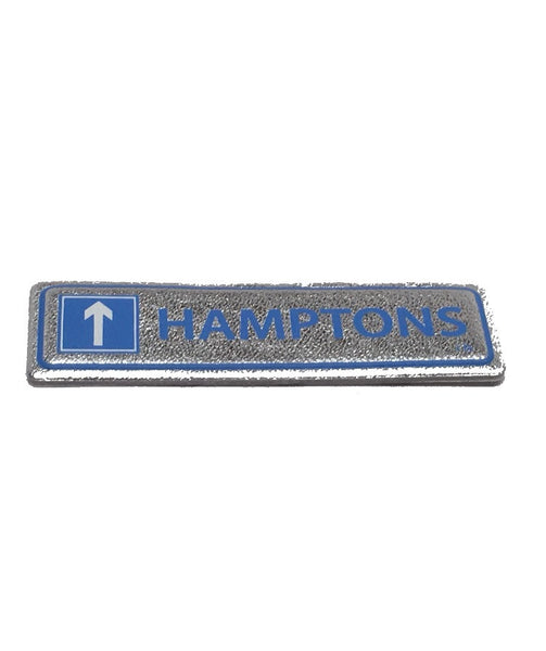 Hamptons Goatskin leather sticker