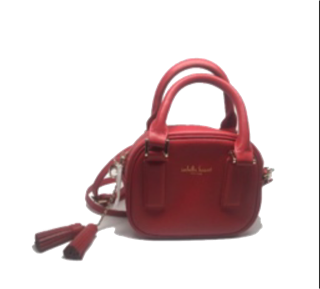 Red miniature handbag