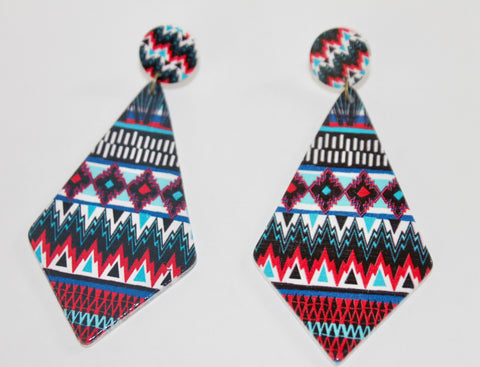 "The ""Vacation Festival"" Collection Earrings-Grenada"
