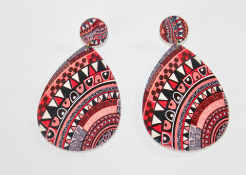 "The ""Vacation Festival"" Collection Earrings-Turks and Caicos"