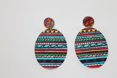 "The ""Vacation Festival"" Collection Earrings-Morocco"