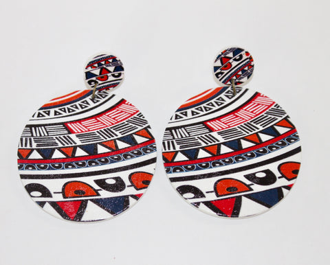 "The ""Vacation Festival"" Collection Earrings-Kenya"