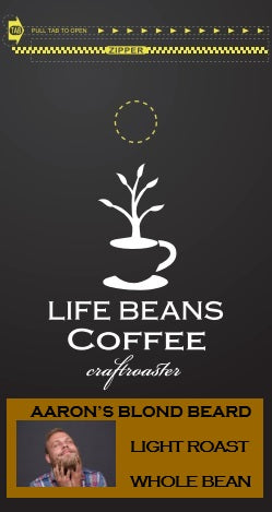 Aaron's Blond Beard - Life Beans Coffee