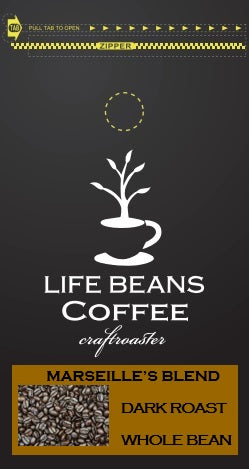 Marseille's Morning Blend - Life Beans Coffee