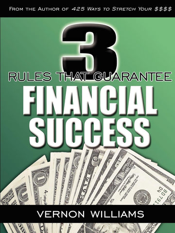 3 Rules That Guarantee Financial Success (Physical Book)
