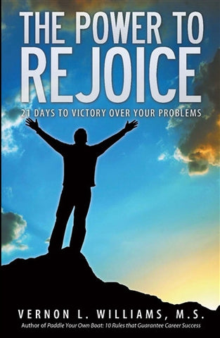 Practical strategy and Bible verses to help you rejoice despite problems, such as job loss, money, health problems.