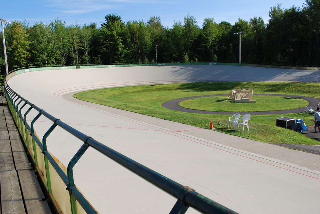 The international Vélodrome of Bromont