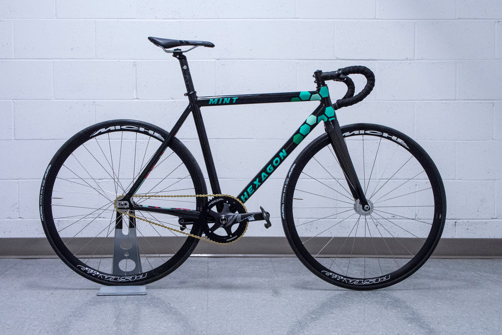 Hexagon Mint Frameset