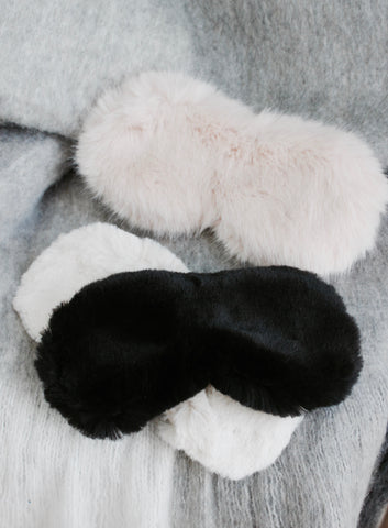 PLUSH SLEEP MASK