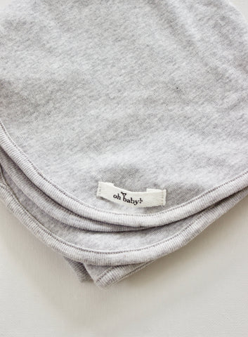 PEBBLE GREY SWADDLE