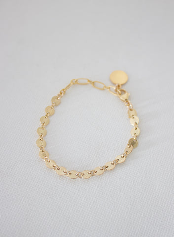 DISC CHAIN KIDS BRACELET