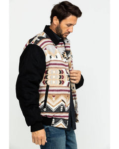 Brown Navajo Blanket Bomber