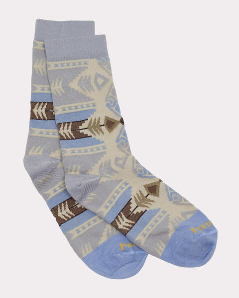Pendleton® Crew Socks, Silver Bark