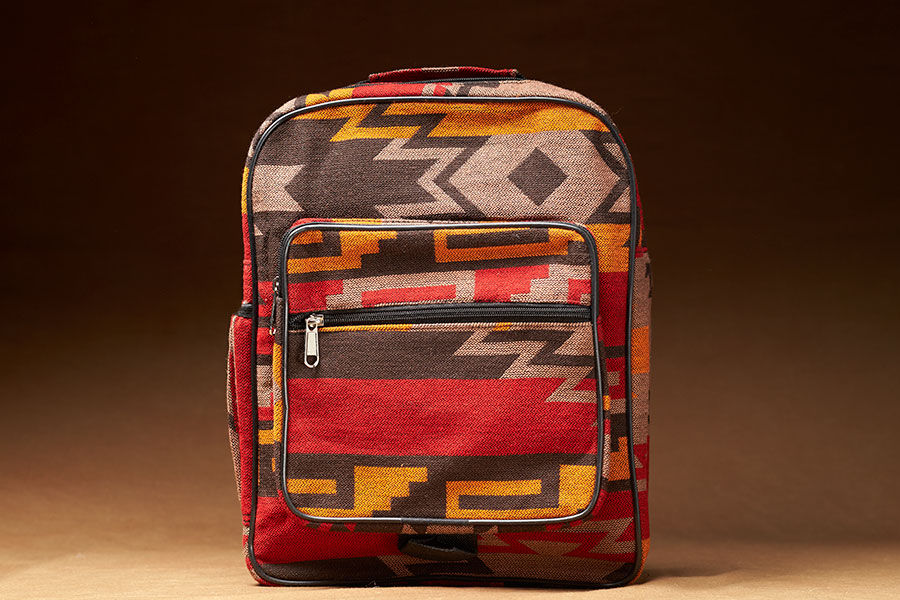 New West Native Style Backpack, Tan
