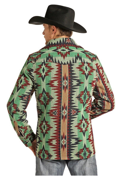Aztec Commander Wool Jacket by Powder River