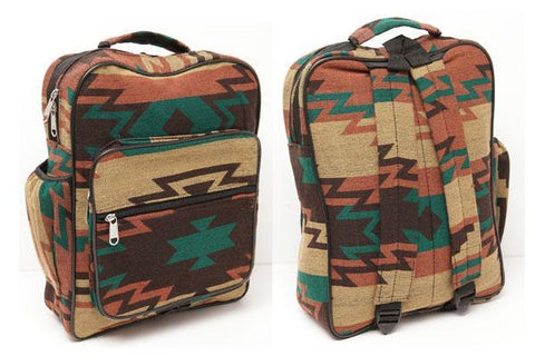 New West, Native Style Backpack, Albuquerque