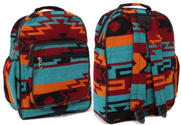 New West Native Style Backpack, Teal