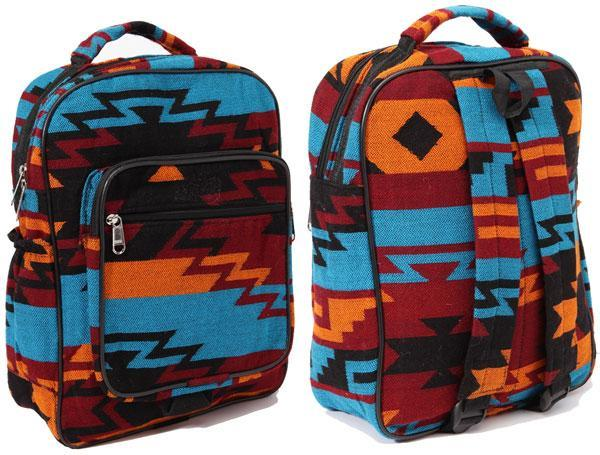 New West Native Style Backpack, Turquoise