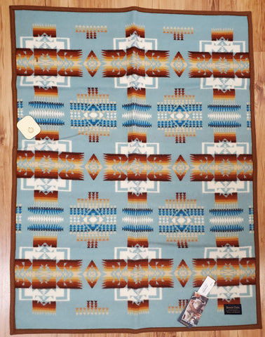 Pendleton© Chief Joseph Baby Blanket Collection, Aqua