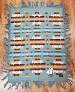 Pendleton® Chief Joseph Baby Blanket Shawl Collection, Aqua
